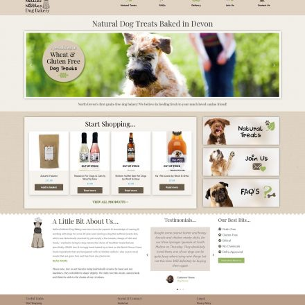 Nellies Nibbles Website